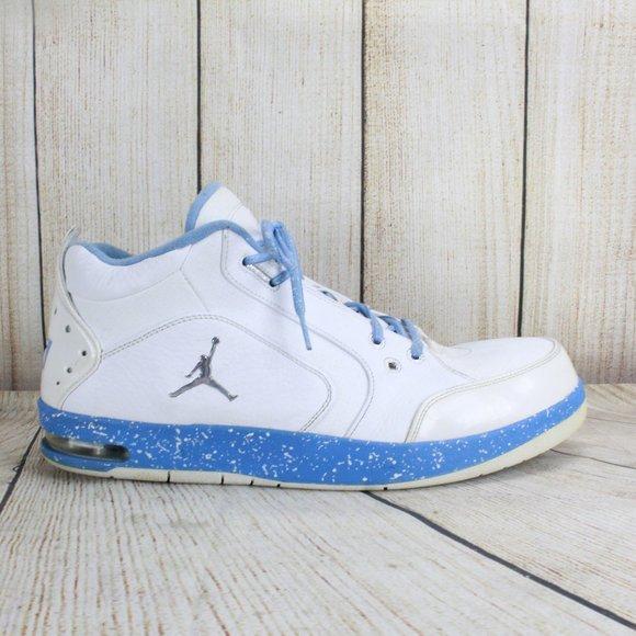 Air Jordan 23 White Light Blue High Top Sneaker 15